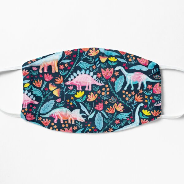 Dinosaur Delight Flat Mask