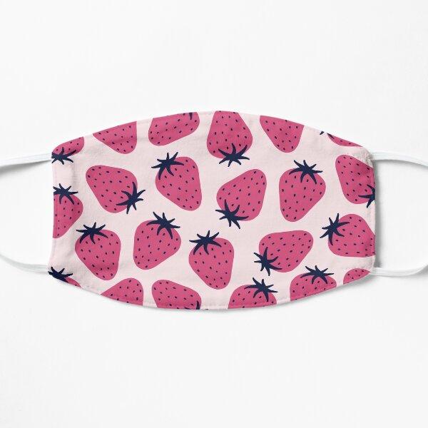 Strawberry Pattern Flat Mask