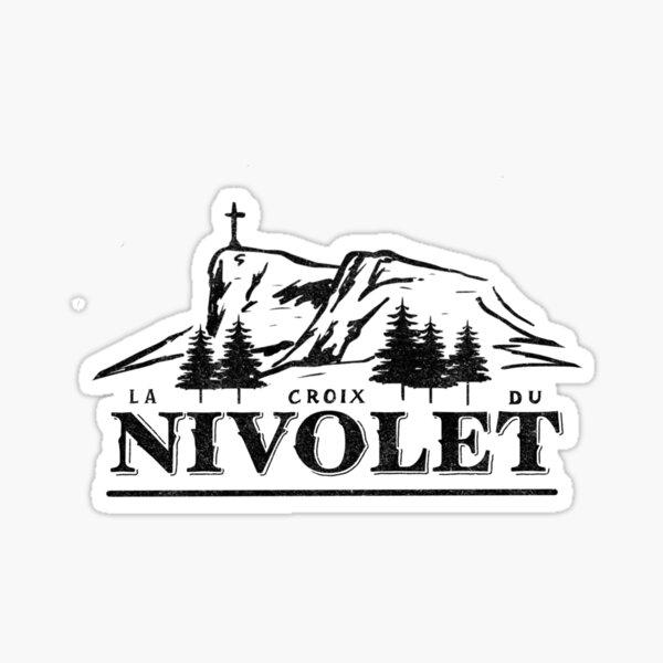 La Croix du Nivolet Sticker