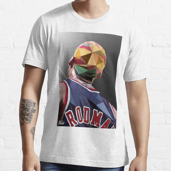 DENNIS RODMAN / LOW POLY Essential T-Shirt