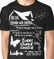 THE PAST IS BEYOND OUR CONTROL Graphic T-Shirt