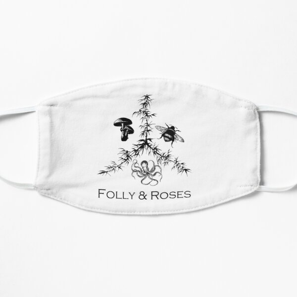 Folly & Roses Logo Mask