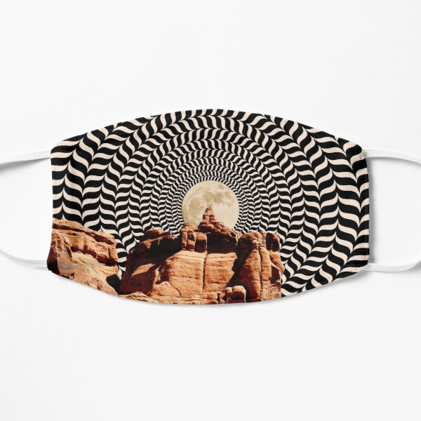 Illusionary Road Trip Flat Mask