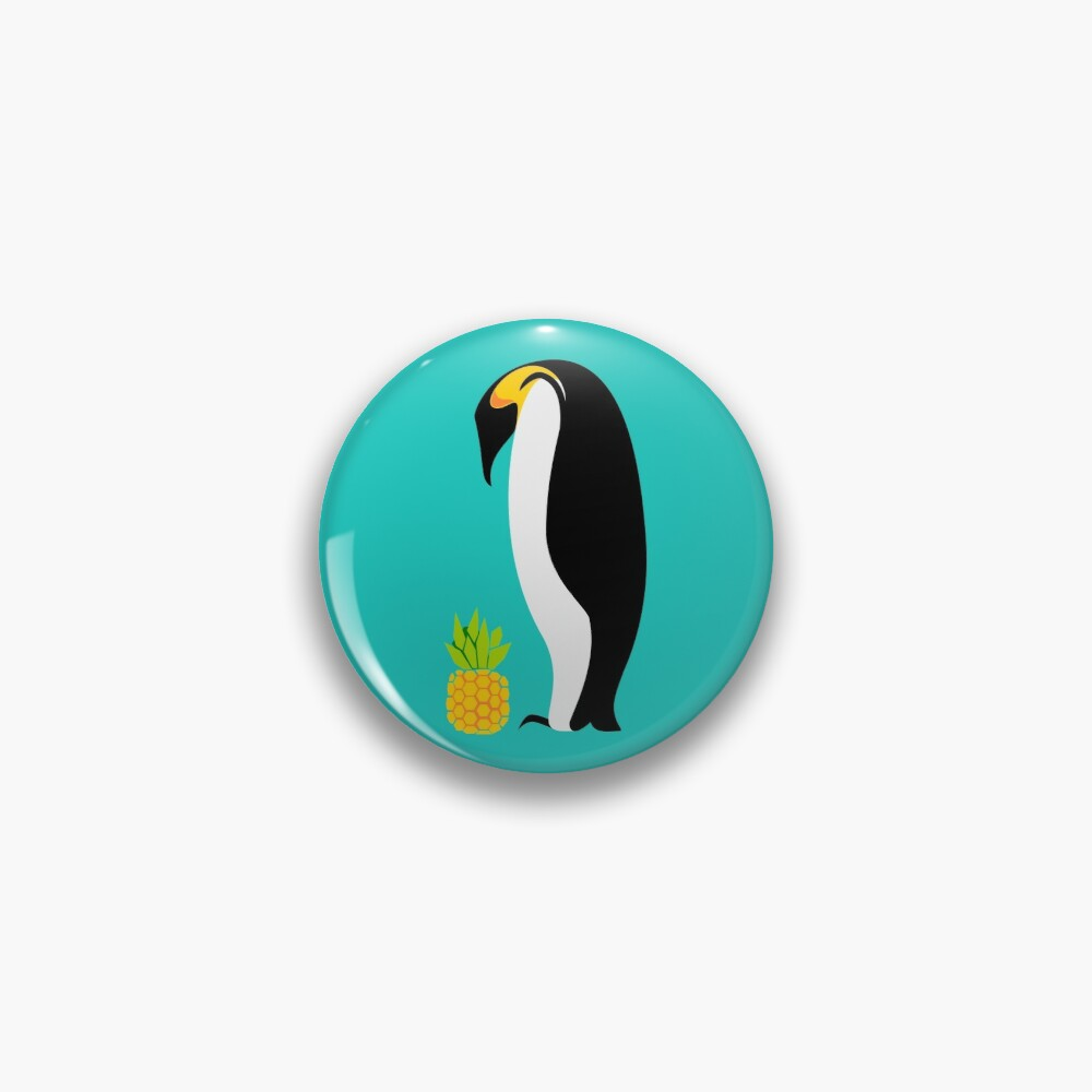 Confused Penguin Pin