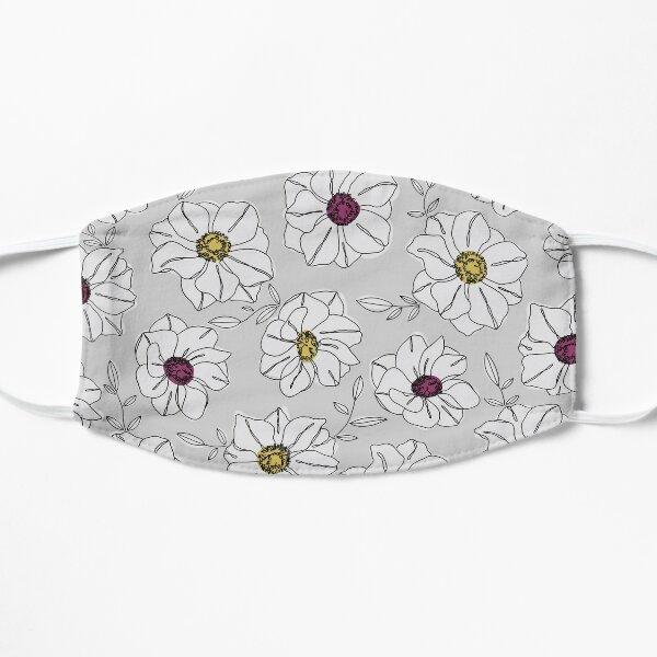 Floral Pattern  Flat Mask
