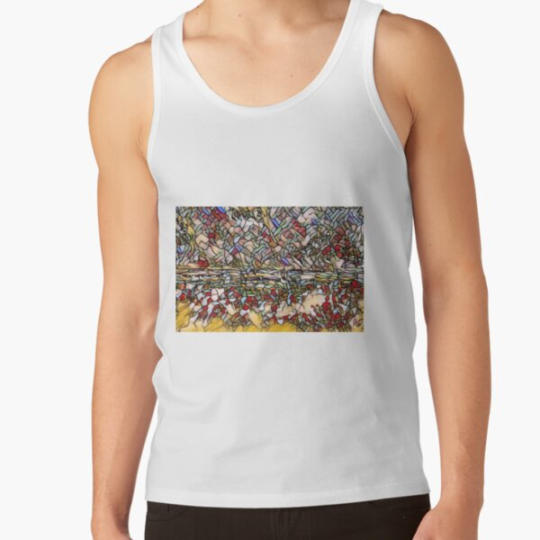 Holiday Dreaming 27 designed and created by (c) Janet Watson Art Tank Top