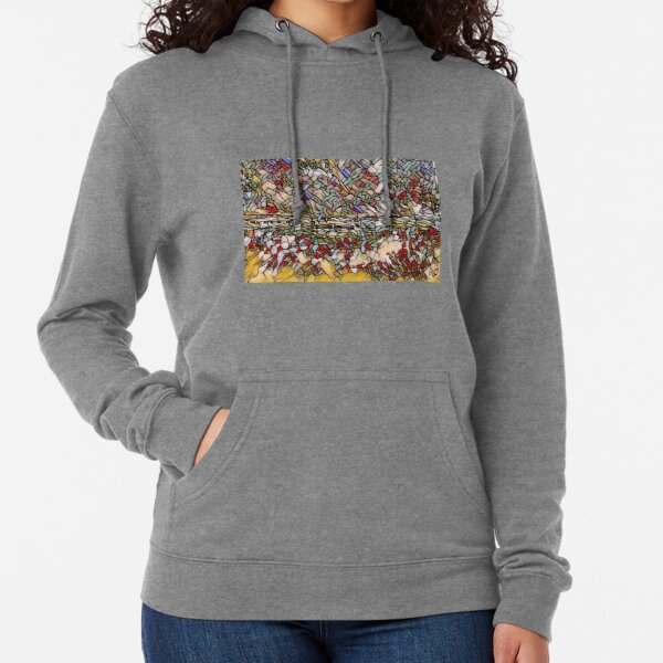 Holiday Dreaming 27 designed and created by (c) Janet Watson Art Lightweight Hoodie