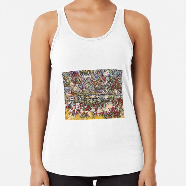 Holiday Dreaming 27 designed and created by (c) Janet Watson Art Racerback Tank Top