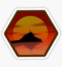 Settlers of Saint Mont Michel Sticker