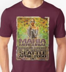 Maria Mercurial 2050 Concert Poster T-Shirt