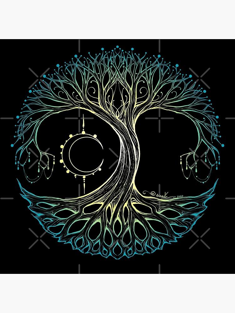 Dreamie's Tree of Life Elvish Blue by dreamie09