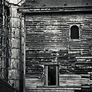 Old House and Silos by Peter O'Hara