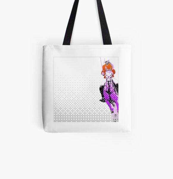 pololady lilac All Over Print Tote Bag