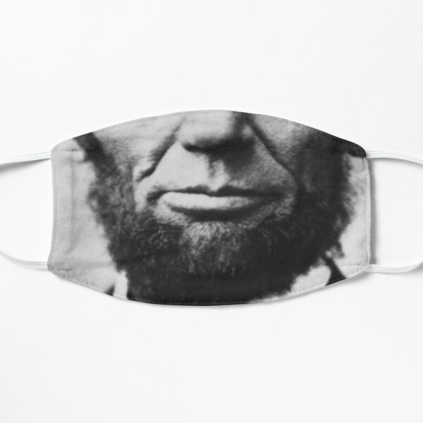 Abraham Lincoln Mouth Flat Mask