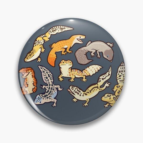 chub geckos in dark grey Pin