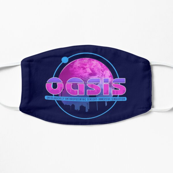 Oasis (Ready Player One) Flat Mask