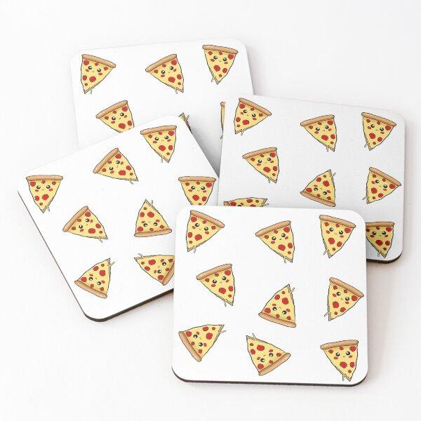 Poomki - Pizza Coasters (Set of 4)