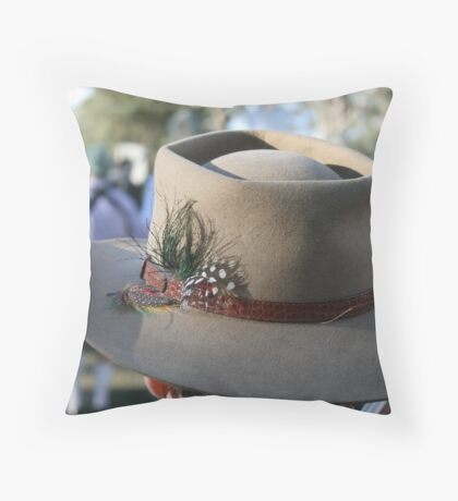 Aussie Akubra Throw Pillow