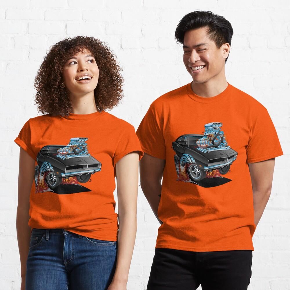 Classic 69 American Muscle Car Cartoon Classic T-Shirt