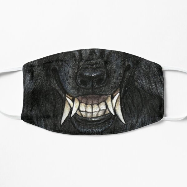 Tribal Werewolf Moon Mask
