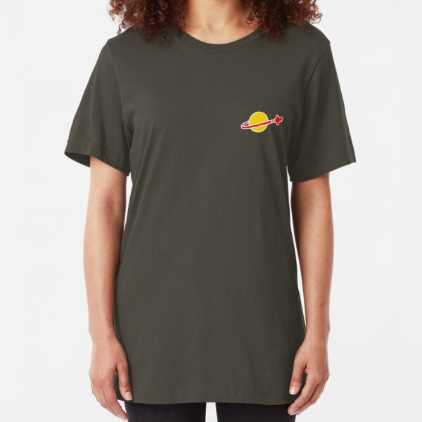 The Lego Classic Space Logo (Small Logo) Slim Fit T-Shirt