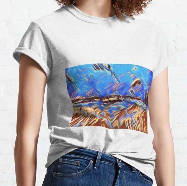 Holiday Dreaming 24 designed and created by (c) Janet Watson Art Classic T-Shirt