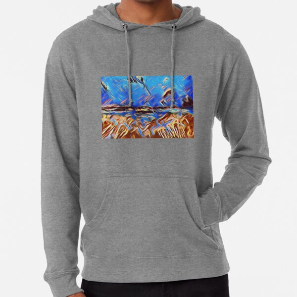 Holiday Dreaming 24 designed and created by (c) Janet Watson Art Lightweight Hoodie