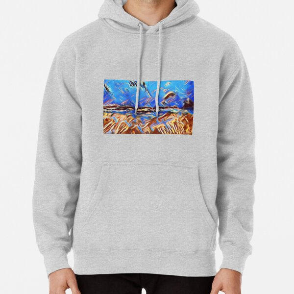 Holiday Dreaming 24 designed and created by (c) Janet Watson Art Pullover Hoodie