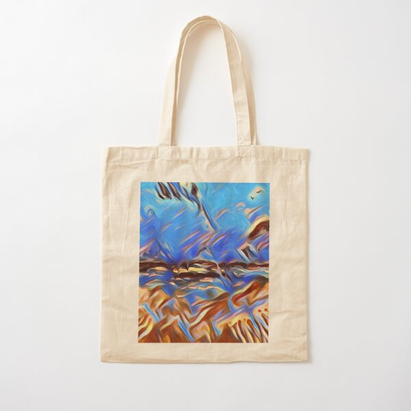 Holiday Dreaming 24 designed and created by (c) Janet Watson Art Cotton Tote Bag