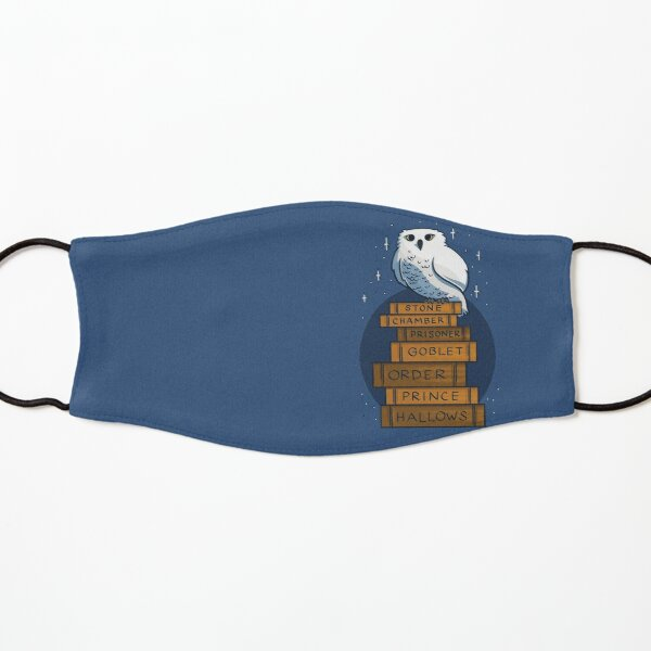 An Owl with the Books Kids Mask