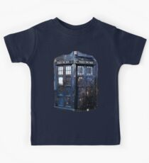 space tardis Kids Tee