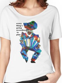 Everything's Going Accordion To Plan Women's Relaxed Fit T-Shirt