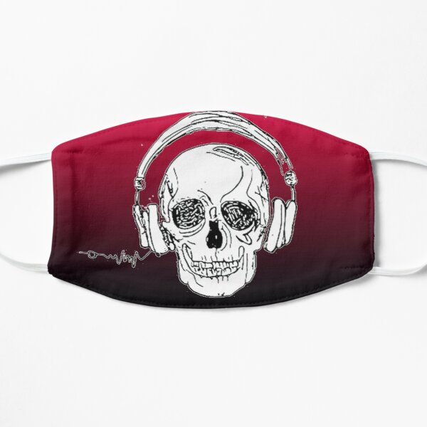 Copy of skull music heartbeat Mask