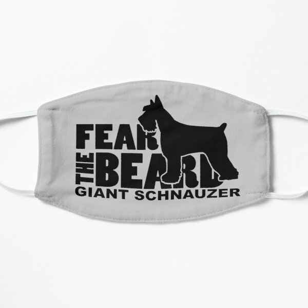 Fear the Beard - Giant Schnauzer Mask