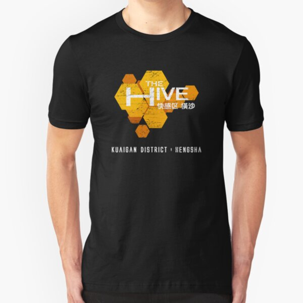 The Hive (worn look) Slim Fit T-Shirt