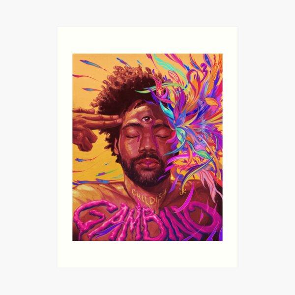 Gambino Flow Art Print