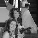 Beth and two beautiful bridesmaids by gaylene