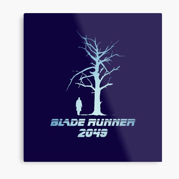 Blade Runner 2049 Tree Metal Print