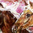 Horses II by Rineke de Jong