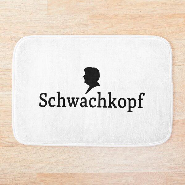 Schwachkopf Badematte
