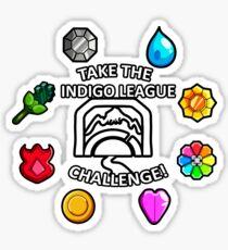 Indigo League Sticker