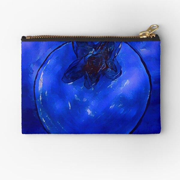 Blueberry Zipper Pouch