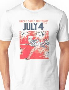 4th of July - Uncle Sam T-Shirt