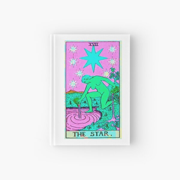 The Star Tarot TWISTED Hardcover Journal