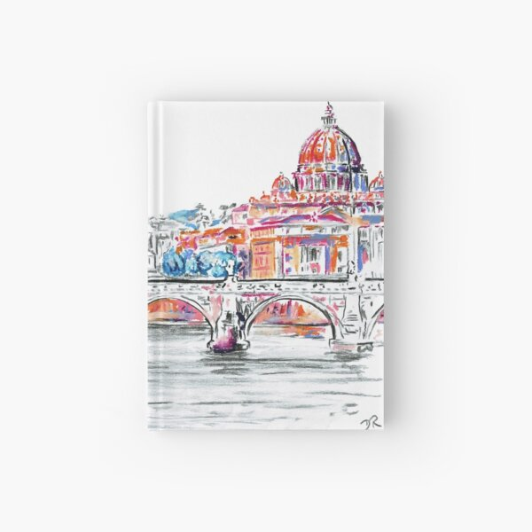 Modern Italian Art - Rome Hardcover Journal