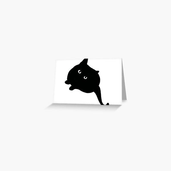 Black Cat II Greeting Card