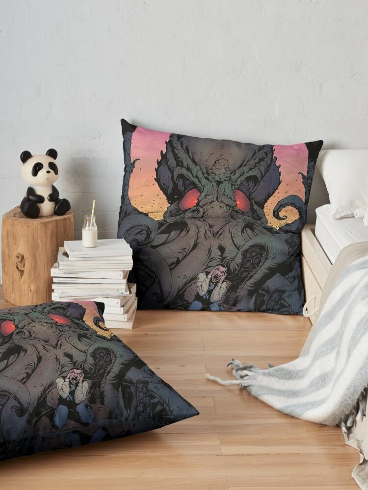 Alternate view of The Eternal Cthulhu Floor Pillow
