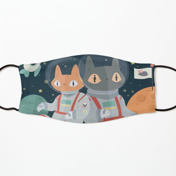 Catstronauts! In! Space! Kids Mask