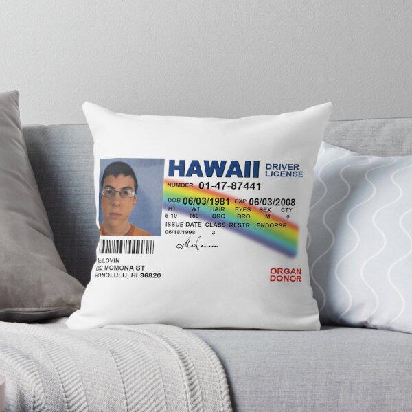Superbad Fake ID License Throw Pillow