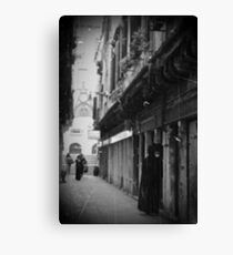 streets of Venice Canvas Print